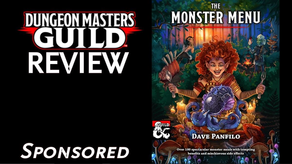 DMs Guild Review – The MonsterMenu