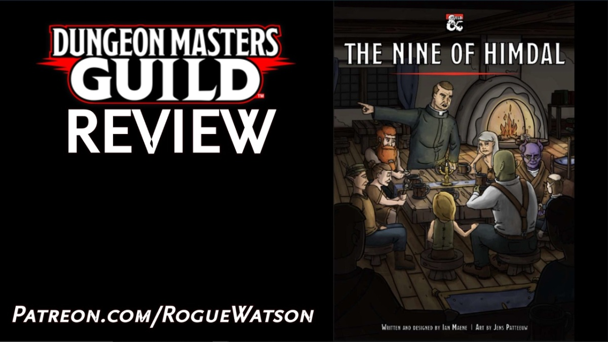 DMs Guild Review – The Nine ofHimdal