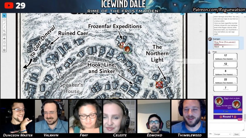 Rime of the frostmaiden session 10 caer-konig