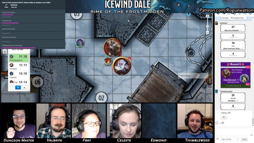 Rime of the frostmaiden session 11 duergar outpost