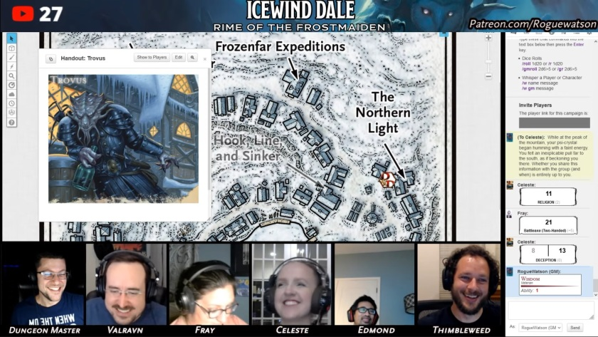 Rime of the frostmaiden session 9 caer-konig