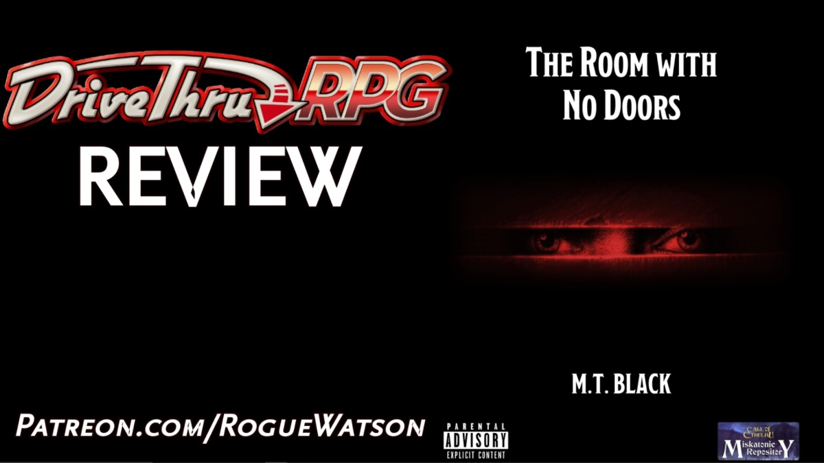 DriveThruRPG Review – The Room with NoDoors