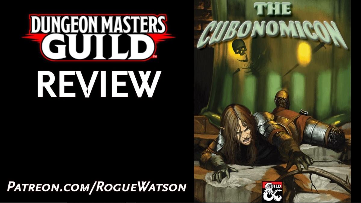 DMs Guild Review – TheCubonomicon