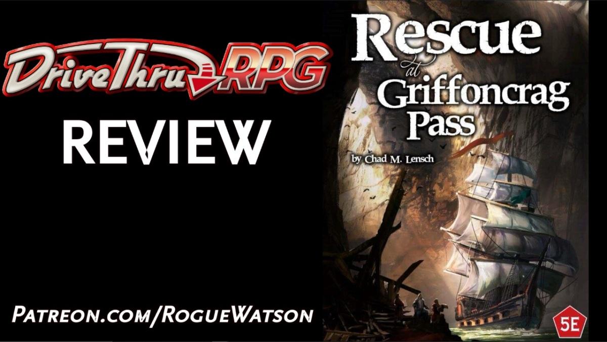 DriveThruRPG Review – Rescue at GriffoncragPass