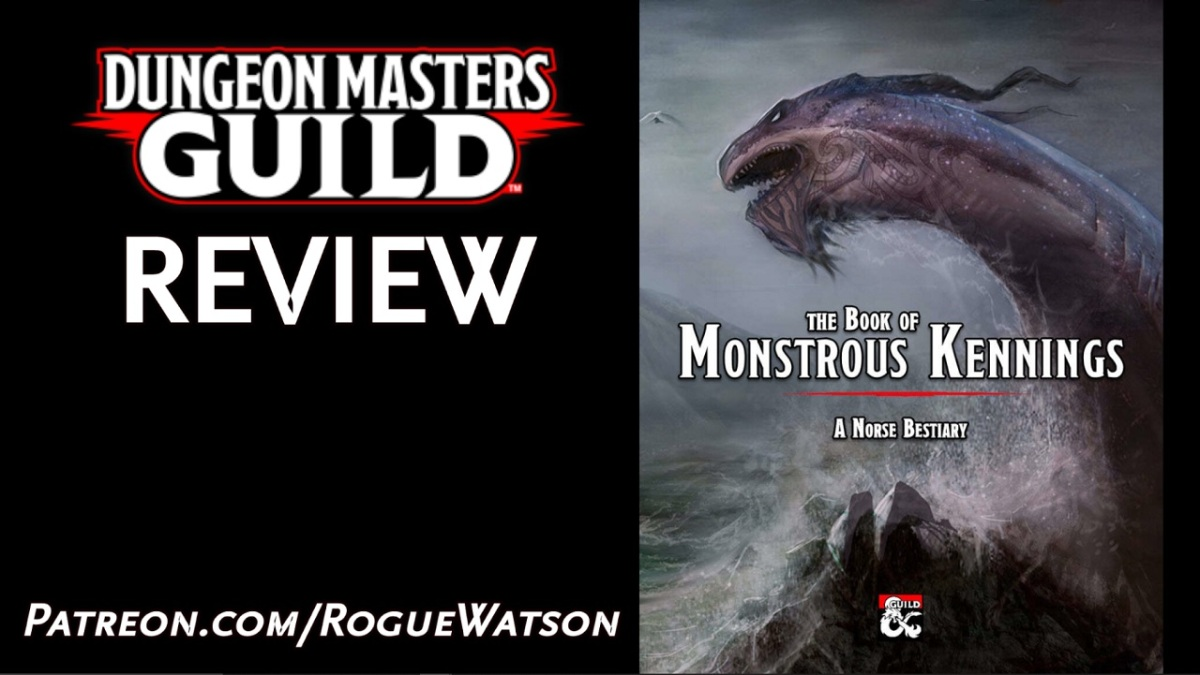 DMs Guild Review – The Book of MonstrousKennings