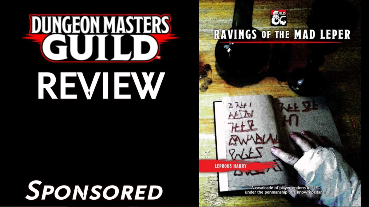 DMs Guild Review – Ravings of the MadLeper
