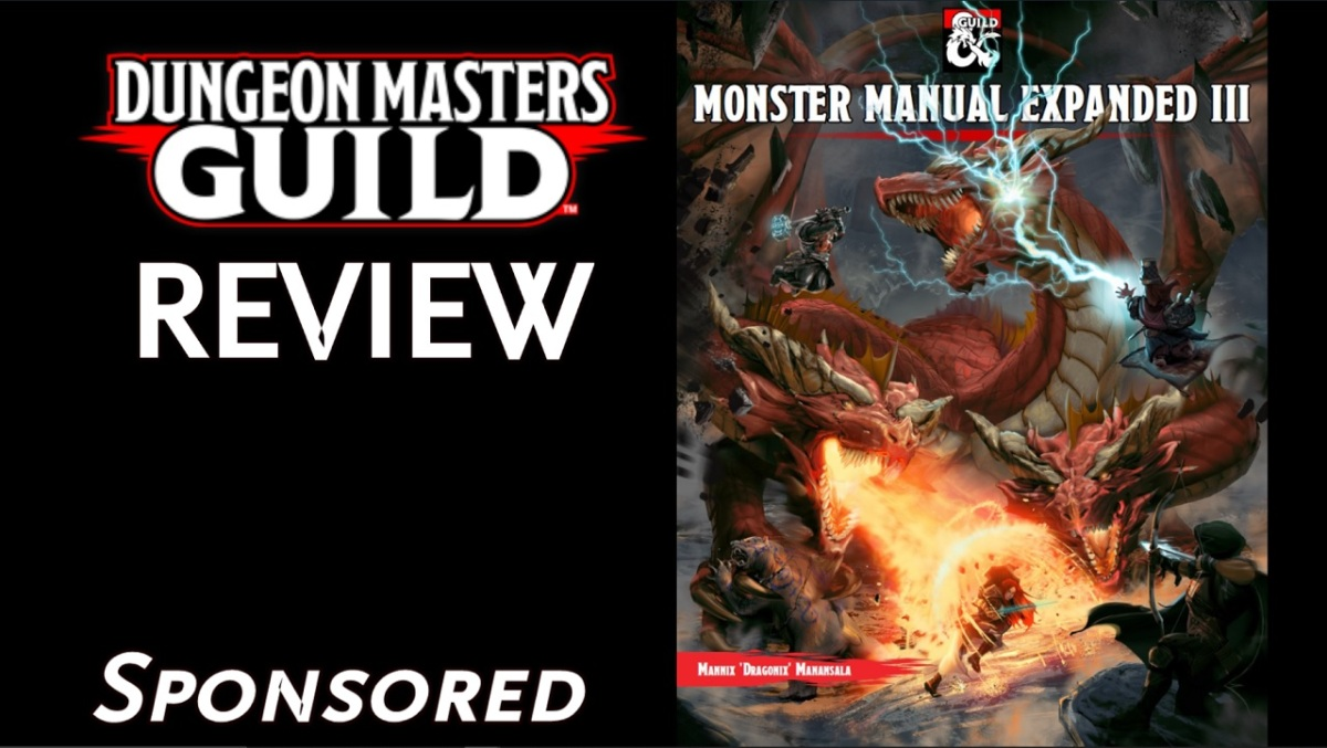 DMs Guild Review – Monster Manual ExpandedIII