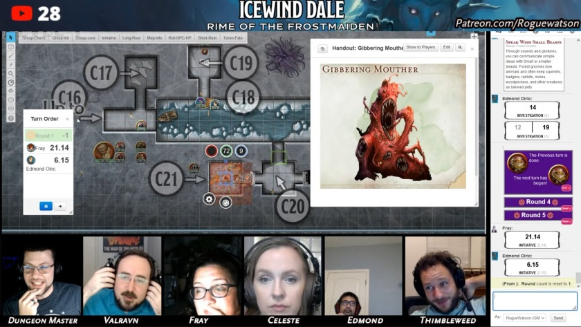 Rime of the frostmaiden session 15 black swords