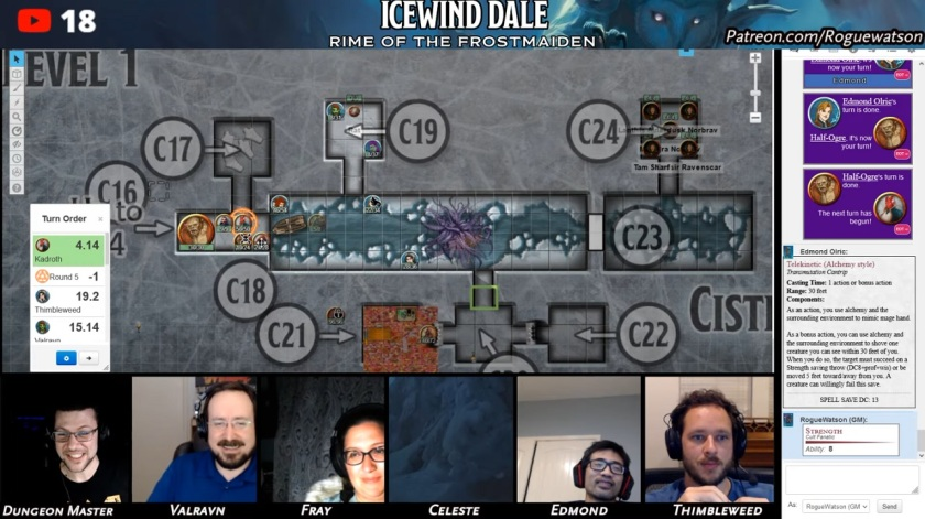 Rime of the frostmaiden session 16 black swords