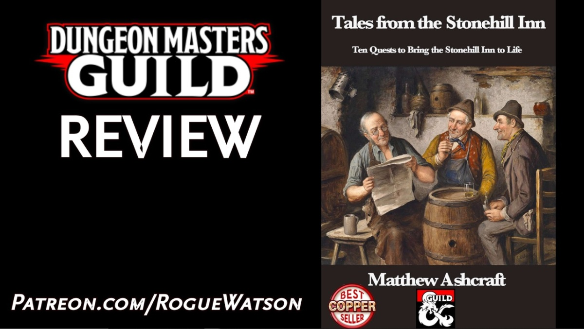 DMs Guild Review – Tales from the StonehillInn