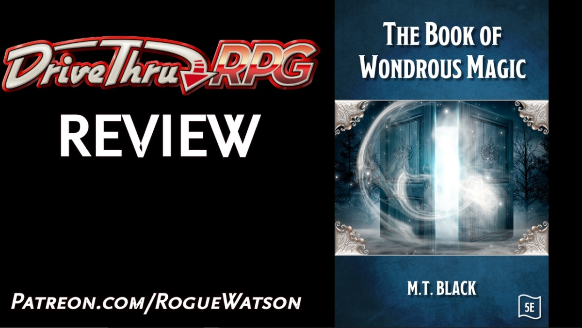 DriveThruRPG Review – The Book of WondrousMagic