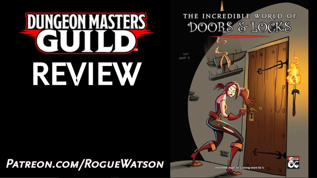 DMs Guild Review – The Incredible World of Doors &Locks