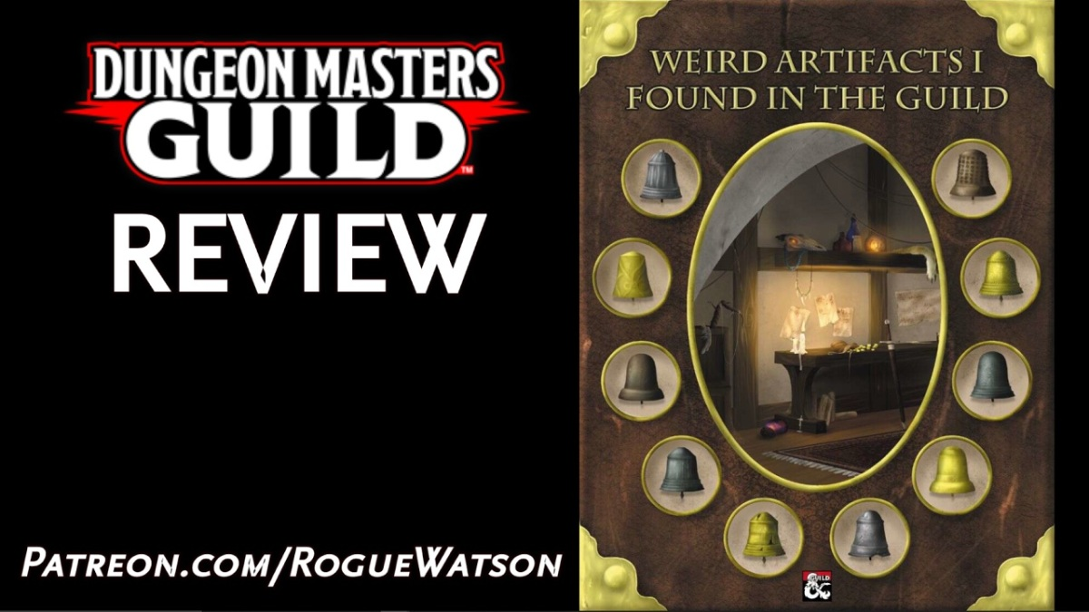 DMs Guild Review – Weird Artifacts I Found In TheGuild