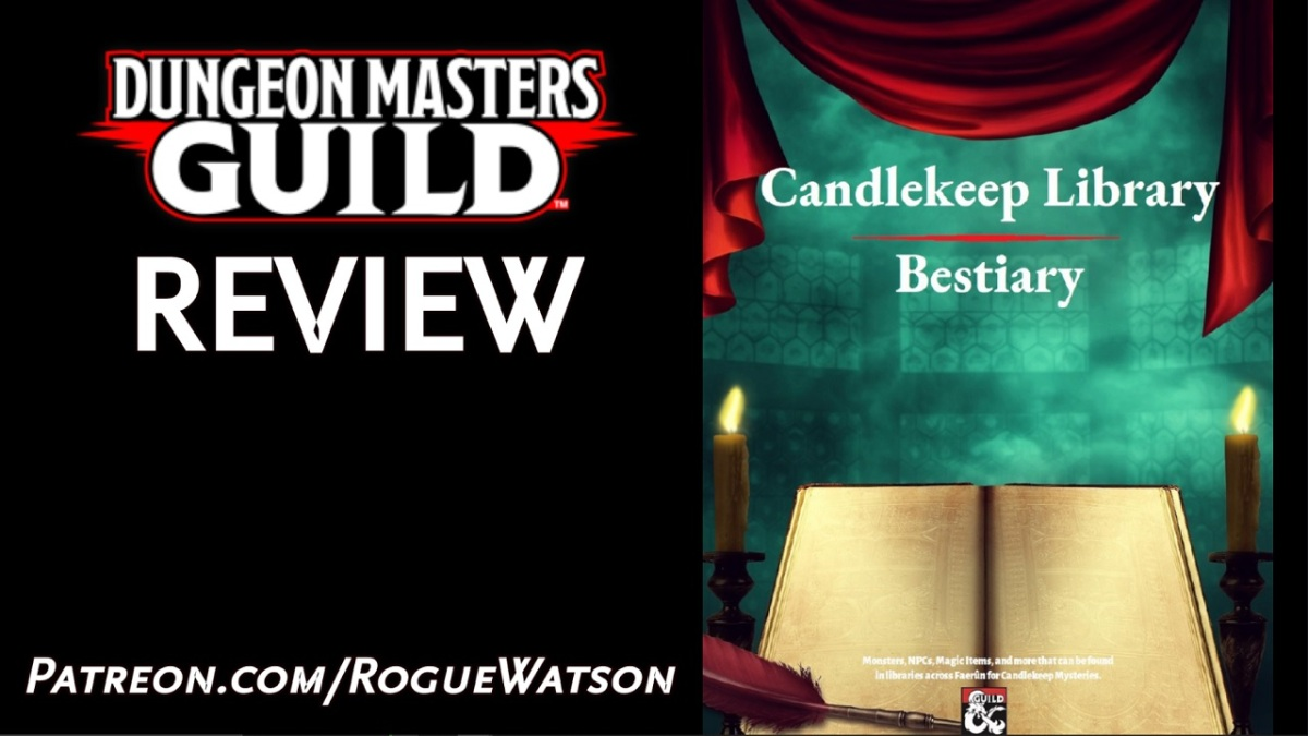 DMs Guild Review – Candlekeep LibraryBestiary
