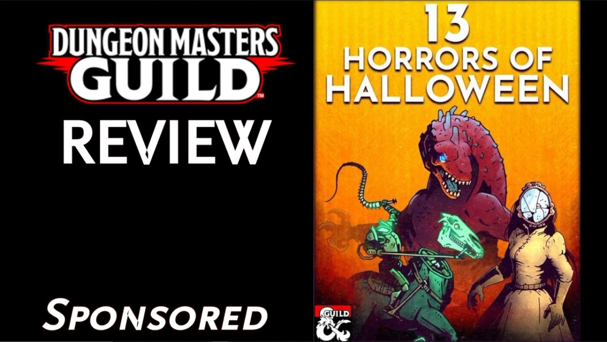DMs Guild Review – 13 Horrors ofHalloween