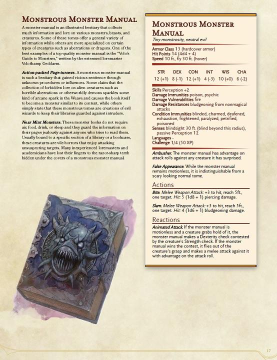 monstrous monster manual