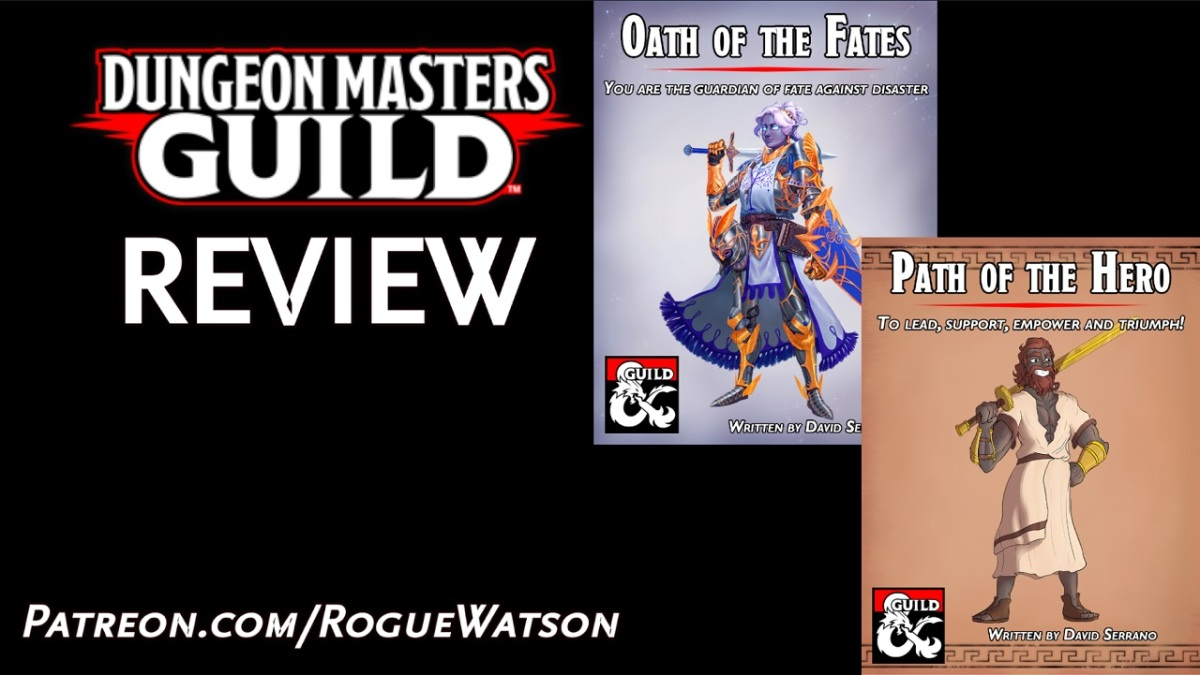 DMs Guild Review – Oath of the Fates + Path of theHero