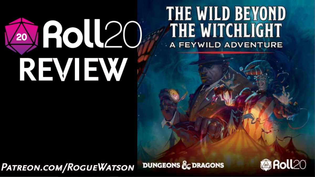 Roll20 Review – The Wild Beyond theWitchlight