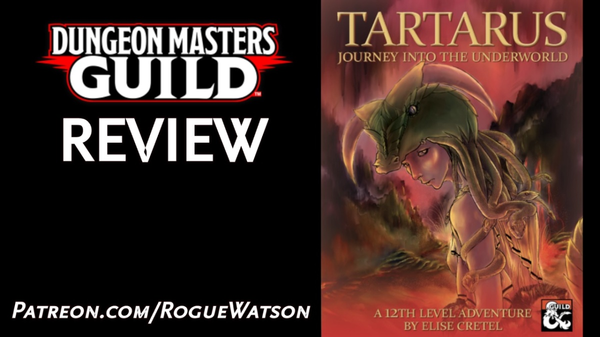DMs Guild Review – Tatarus: Journey into theUnderworld